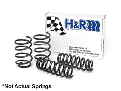 50340 H&R Sport Springs | Audi A3 Sedan Quattro
