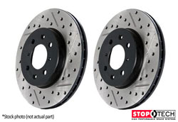 127.33110L-R Front Stoptech Drilled??? Rotors - Set of 2 Rotors  (288x25mm)