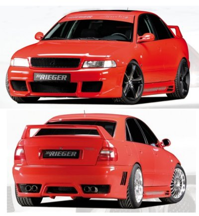 r5507fk rieger rs4 plus audi a4 s4 full body kit. Black Bedroom Furniture Sets. Home Design Ideas