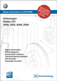 VAG6 Bentley | Mk5 Rabbit | GTi (2006-2009) DVD