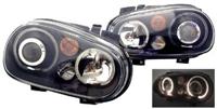 HVWG4HLD-AB Helix Mk4 Golf Headlight w/Fog Lamp | Black