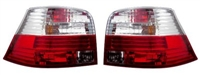 HVWG4TL-CR Helix Mk4 Golf Tail Lights - Red | Clear