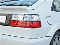 HVWCOTL-RC Helix CORRADO Taillights Red | Clear