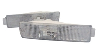 HVWG2BL-OEC MK2 Front Big Bumper Turn Signals - OE Clear