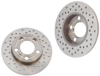 8D0615601A_X_qty2 Rear Rotors (Cross-Drilled) | A4 Quattro 97-01