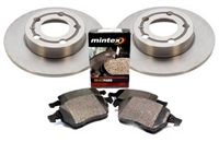 1K0615601M_BP1108 OEM Rear Brake Kit | Audi A3 2.0T