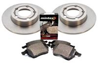 8E0615601P-Q_D104P OEM Rear Brake Kit | B6 Audi A4 1.8T