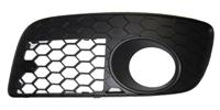 1K0854661M9B9 Honeycomb Bumper Grill - Left (Driver) Side