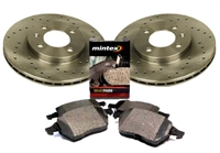 1HM615301E_X_D371MTX Front 256mm Mk3 Golf | Jetta 4-cyl Sport Brake Kit