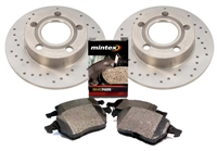 8D0615601A_X_D363P Rear 245mm B5 Audi A4 1.8T Quattro Sport Brake