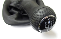 1J0711113FEU Mk4 5-Speed Shift Knob and Boot | Black