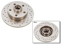 1J0615601C_X_qty2 Rear Cross drilled rotor | Mk4 Golf | Jetta