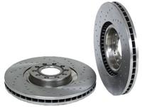8D0615301KSP_qty2 Front Brake Rotors (Cross-Drilled) | B7 A4 | B5 S4