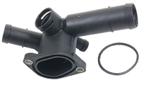 06A121132_URO Coolant Hose Flange | Mk4 2.0L