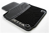 1KM061550H041 Monster Mat Rubber Floor Mats | Jetta logo (oval