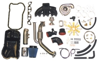 KNVR6OBD2STG2 Kinetic Motorsport Stage 2 Mk3 VR6 Turbo Kit