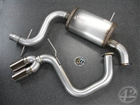EX-A3-1GXXX 42 Draft Designs Cat-Back Exhaust | Audi A3 (8P) 2.0T FWD