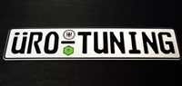Uro_Plate_std UroTuning European License Plate | Standard