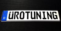 Uro_Plate_German UroTuning European License Plate | EEC German