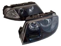 HVWP55HL-B Black ECode Projector Headlights with Angel Eyes |