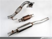 3215-11022 AWE Tuning Mk6 GTi |Mk2 TT 2.5- Downpipe