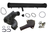 ULT-Thermo-Kit-Mk4-R32 Thermostat Housing Kit | Mk4 Golf R32