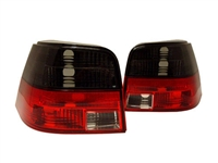 HVWG4TL-SR Helix Smoked | Red Tail Lights | Mk4 Golf | GTi