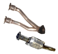 251.236 Techtonics Dual Downpipe w/Hi-Flo Cat | Mk4 24v