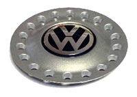 1C0601149AGRB VW Center Cap | Black|Silver (200mm) | New Beetle