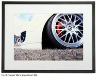 MkV_Nose_Grind_RockO -MkV Nose Grind- Framed Print 13x19