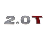 EMB-20T-CR Vw/Audi Chrome 2.0T Emblem with Red T