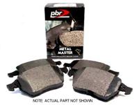 D1865M Rear | PBR Metal Master Brake Pads | Mk5