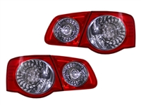 HVWJ5TL-ORX European Taillights for MK5 Jetta Sedan - Red | Clear