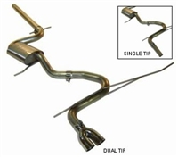 252.526 Techtonics Stainless Steel 2.5- Cat-Back Exhaust |