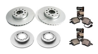 OEM Brake Kit (288mm | 272mm) | 2010 VW Jetta 2.5L | TDi