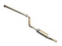 253.411M TT 2.25- Cat Back Exhaust GTI 1987-1992 16V and