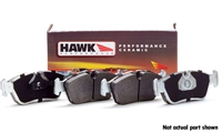 HB642Z.658 Rear | Hawk Ceramic Compound Performance Brake Pads | B8 Audi A4 | A5 | S5 | S4 | Q5
