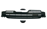 GR-VWG5-RAB-B Mk5 Rabbit Badgeless Grille Kit-Black