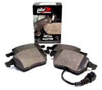 D1849M Front | PBR Metal Master Brake Pads | Mk5